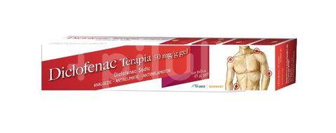 Diclofenac 50 mg/g gel, Terapia, 45g