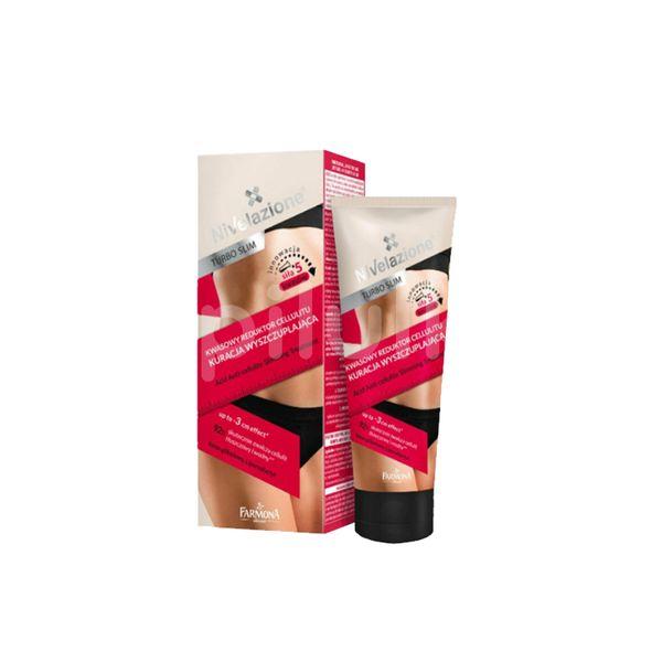Reductor acid anticelulitic - TRATAMENT PENTRU SLĂBIRE- HOT THERAPY- Nivelazione, Farmona, 200 ml