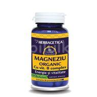 Magneziu organic B-complex, 30 capsule