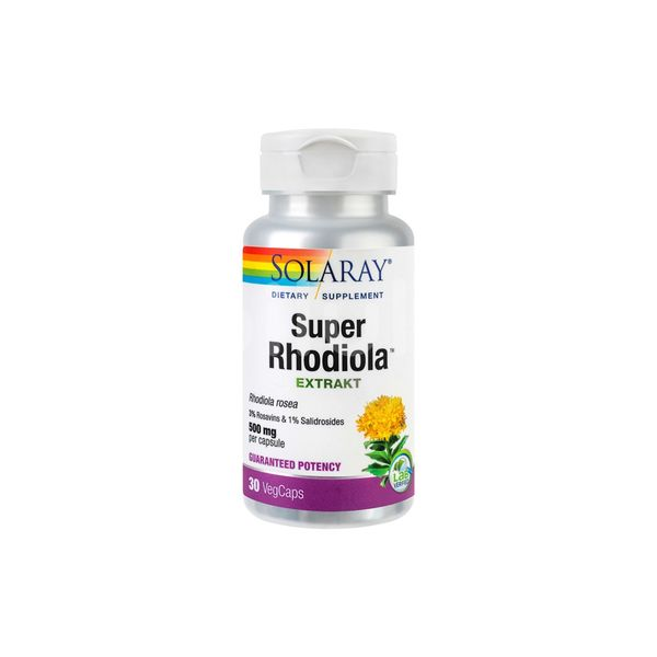 Extract de Super Rhodiola 500 mg, Secom, 30 cps