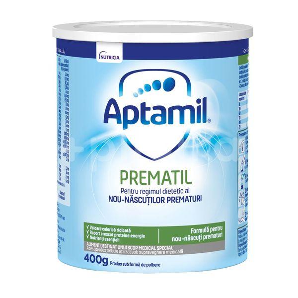 Aptamil Prematil Formulă de lapte specială pentru prematuri, +0 luni, 400 g