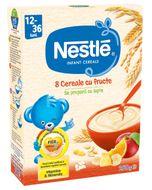 Cereale Nestle 8 Cereale cu fructe, 250 g