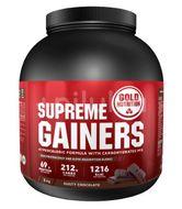 Supliment pentru creșterea masei musculare și volumizare musculară, GoldNutrition Supreme Gainers, 3 kg