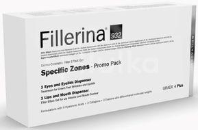 Pachet promo Fillerina 932 pentru zone specifice, Grad 4 Plus, 15 ml + 7 ml