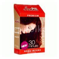 Vopsea de păr Henna Sonia Premium, Roșcat intens, Kian Cosmetics, 60 g