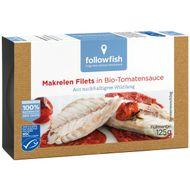 File de macrou in sos de tomate bio , Followfish