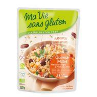 Quinoa si mei cu legume - fara gluten gata preparat 220g