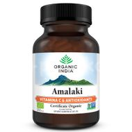 Amalaki Vitamina C & Antioxidanți Naturali, Organic India, 60cps