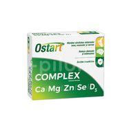 Ostart Complex Ca+Mg+Zn+Se+D3, Fiterman Pharma, 20cpr