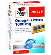 Doppelherz Omega 3 Extra 1.000 mg, Queissr Pharma, 120cps