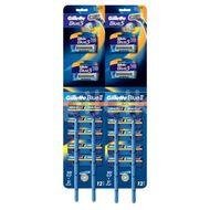 Aparat De ras Gillette Blue II Plus, 20 Buc + Aparat De Ras Gillette Blue 3, 4 buc