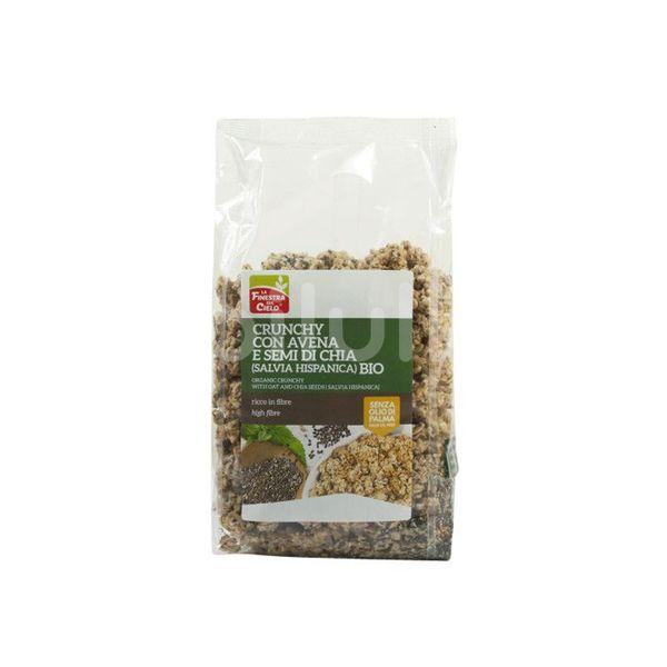 Eco Musli crocant cu fulgi de ovăz și semințe de chia, La Finestra Sul Cielo, 375 g