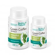 Pachet promo Green Coffee Extract, Rotta Natura, 120cps + 60cps