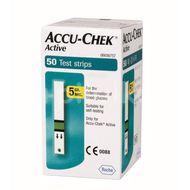 Teste glicemie Accu-Check Active, 50 bucăți