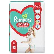 Scutece Pampers, NR 6, Pants Extra Large, +15 kg, 44 bucati