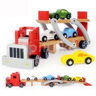 Camion cu platforma auto , Topbright