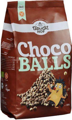 Bile crocante cu ciocolata bio fara gluten , BauckHof