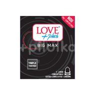 Prezervative Big Max, Love Plus, 3buc