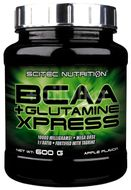 BCAA Glutamine Xpress Lime, Scitec, 600 g