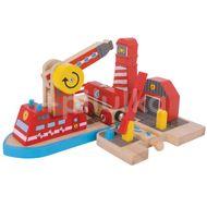 Platforma pompierilor , BIGJIGS Toys