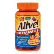 Gummies Multivitamin Alive - pentru copii, Secom, 90 jeleuri