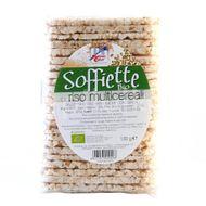 ECO Rondele (galete) orez expandat cu cereale 130g (fără gluten)