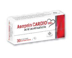 Asaprin Cardio 100mg, Helcor, 30cpr