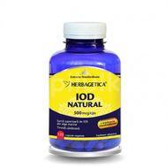 Iod Natural, Herbagetica, 120 cps vegetale