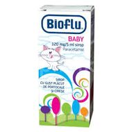 Sirop Bioflu Baby 120mg/5ml, Biofarm, 100ml