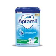Lapte praf Aptamil 2, incepand de la 6 luni, Nutricia, 800 g