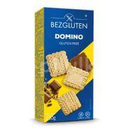 Biscuiti fara gluten cu ciocolata Domino, Bezgluten, 130 g