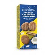Biscuit fara gluten cu crema de cocos, Bezgluten, 210 g