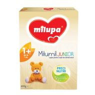 Lapte praf Milumil Junior 1+, incepand de la 12 luni, Milupa, 600 g
