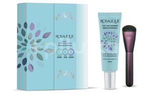 Set cadou Rosalique 3 in 1 Spf 50 + pensula fond de ten