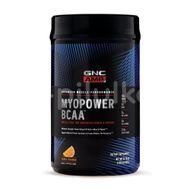Supliment Alimentar GNC AMP Myopower BCAA™, Formula Pentru Energie si Cresterea Performantei, cu Aroma de Portocale, 900