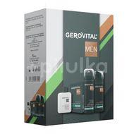 Set cadou Gerovital Men: Spuma de Ras Mentol, 200 ml + Lotiune dupa Ras Mentol, 100 ml + Deodorant Antiperspirant, 150 m