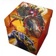 Taburet pliabil cu spatiu de depozitare Avengers Star ST54670
