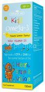 Sirop Omega 3, Natures Aid Kidz 6+, 150ml