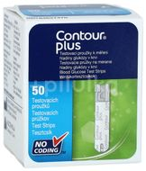 Teste glicemie Contour Plus, 50 bucăți