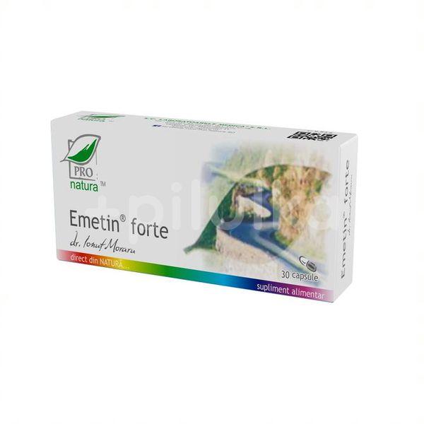 EMETIN FORTE x 30 CPS BLISTER