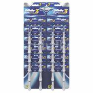 Aparat de ras Gillette Blue3 Simple, 24 buc