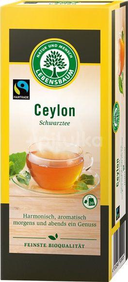 Ceai negru Ceylon , Lebensbaum