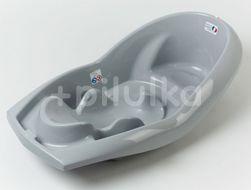 Cadita ergonomica cu hamac incorporat Lagon Grey Charm