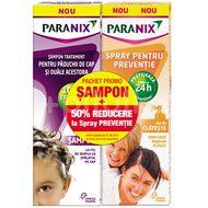 Promo Paranix Șampon, 100 ml + Spray pentru prevenție (50% din al 2-lea produs)