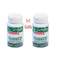 Omega 3-6-9, Adams Vision, 30 cps 1+1 Gratis