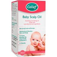 Colief Baby Scalp Oil - ulei calmant pentru cruste de lapte, 30 ml