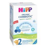 Organic Combiotic 2 formula de lapte de continuare, +6 luni, Hipp, 300 g
