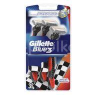 Aparat de ras Gillette Blue3 Pride, 3 buc