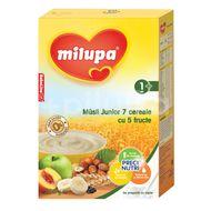 Cereale Musli Junior 7 cu 5 fructe Milupa, 250 g