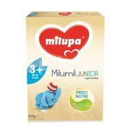 Lapte praf Milumil Junior 3+, incepand de la 3 ani, Milupa, 600 g